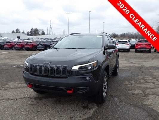 2020 Jeep Cherokee Trailhawk Grand Blanc Mi Goodrich Holly Rankin Michigan 1c4pjmbx1ld591854