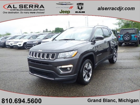 2020 jeep compass limited grand blanc mi goodrich holly rankin michigan 3c4njdcb3lt157729 al serra chrysler dodge jeep ram