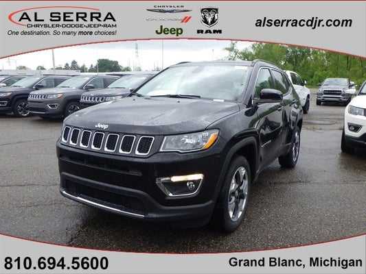 2020 jeep compass limited grand blanc mi goodrich holly rankin michigan 3c4njdcb4lt160168 al serra chrysler dodge jeep ram