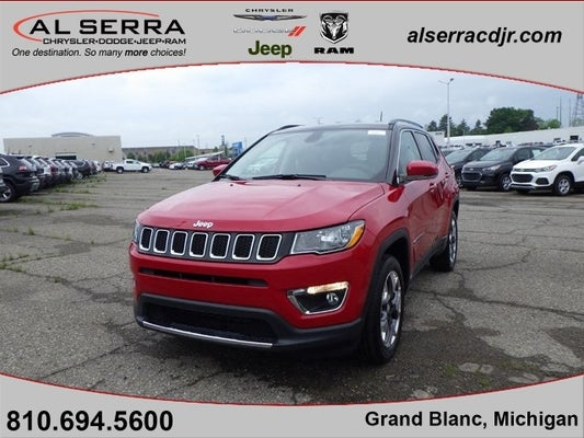 2020 jeep compass limited grand blanc mi goodrich holly rankin michigan 3c4njdcb7lt131800 al serra chrysler dodge jeep ram